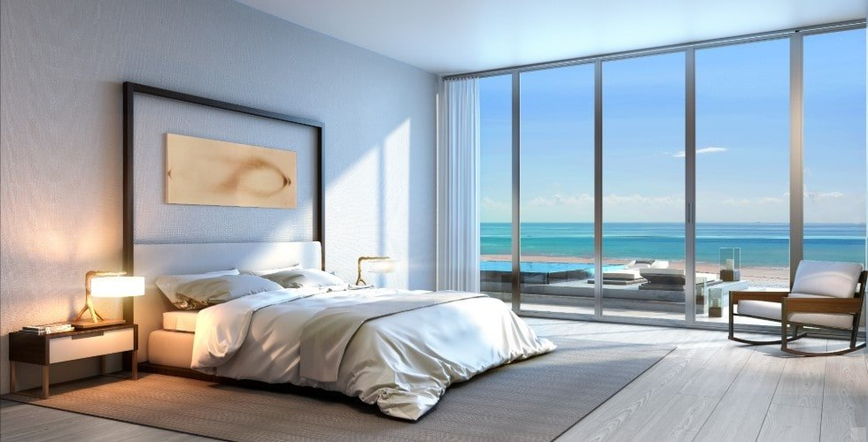 Concept image of luxury condo room at Auberge Residences, Fort Lauderdale